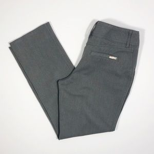 White House Black Market Slim Leg Blanc Pants
